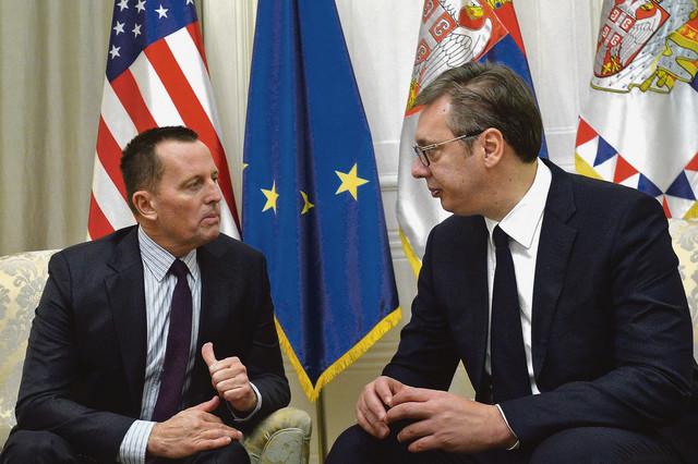 Vučić i Grenel