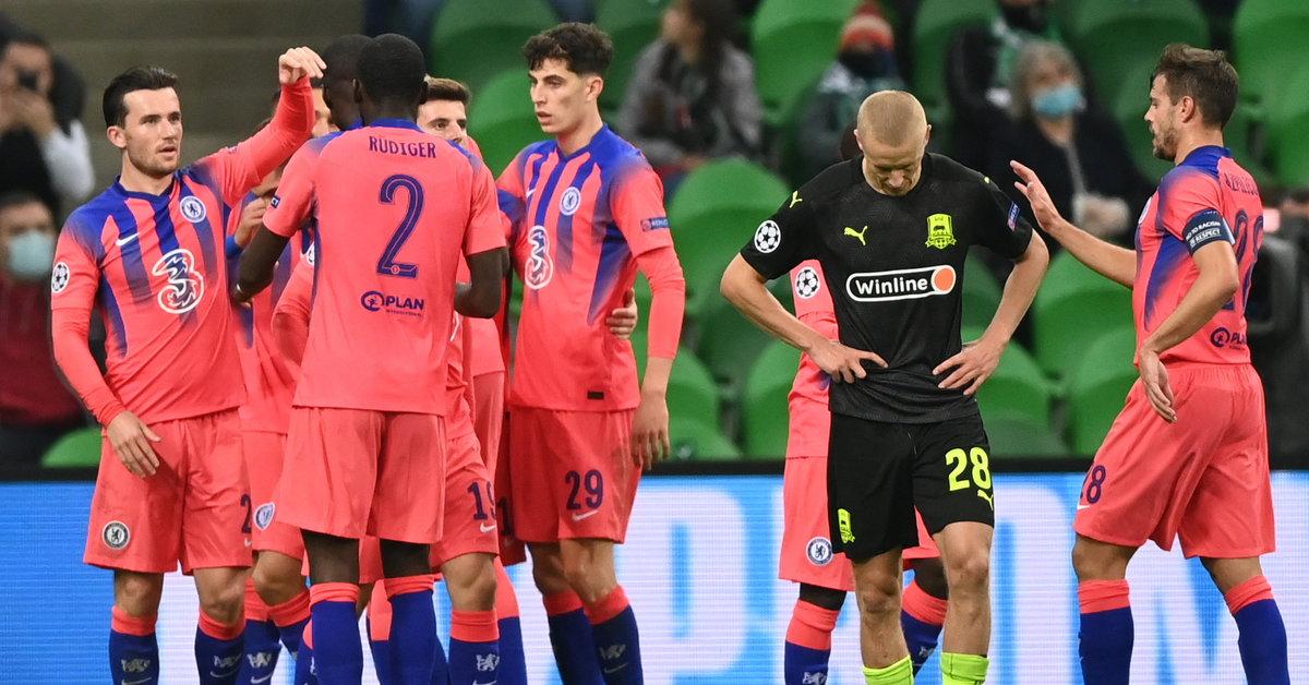 LM: Krasnodar - Chelsea. Faworyci nie zawiedli. Relacja i wynik z meczu - Sport