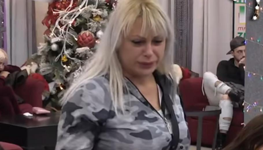 Marija Kulić u suzama