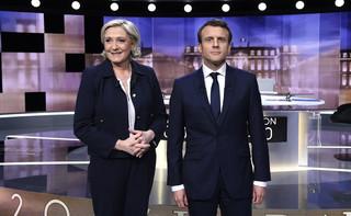 Francja: W niedzielę w drugiej turze wyborów zmierzą się Macron i Le Pen