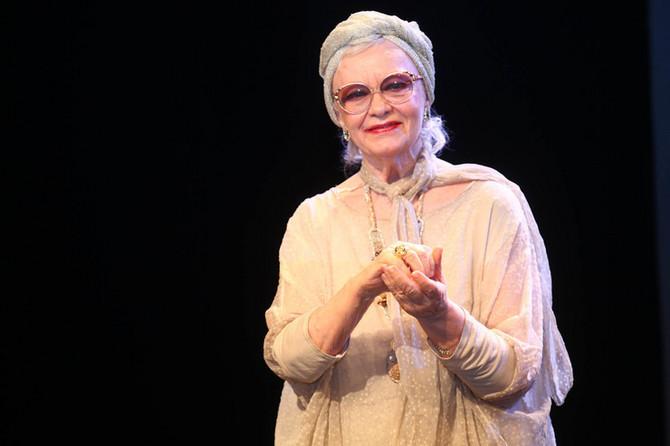 Milena Dravić na uručenju Dobričnog prstena pre nekoliko meseci u Beogradu: glumica se tada poslednji put obratila javnosti