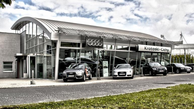 Salon sprzedaży samochodów Krotoski-Cichy