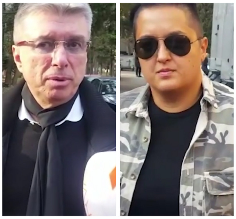 Saša Popović i Marija Šerifović
