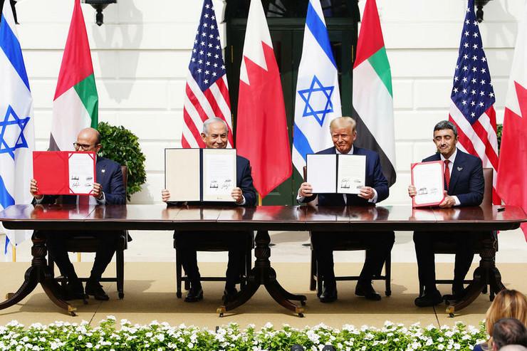 Sporazum SAD, Izrael, Bahrein, UAE