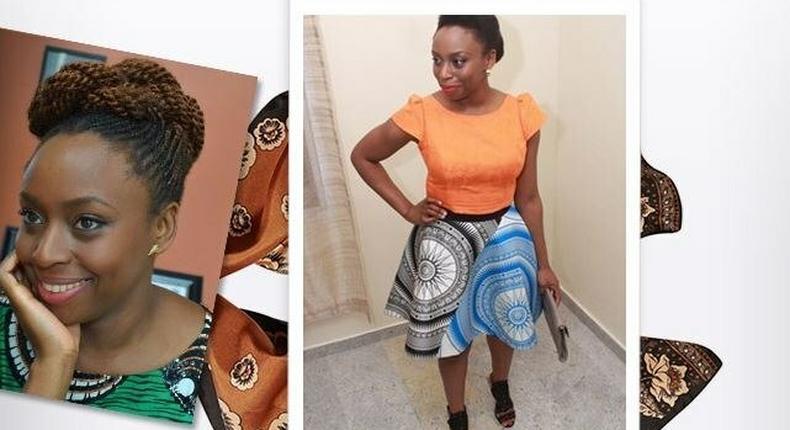 Chimamanda Ngozi Adichie for vogue.co.uk TIW