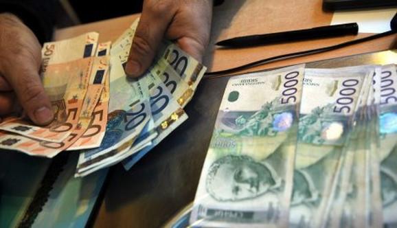 dinari Dinar je trenutno na najnižem nivou u 2016. godini