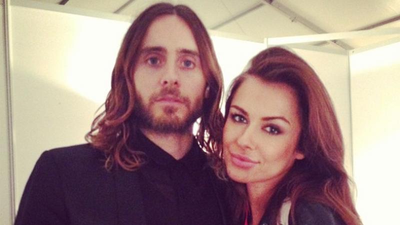 Natalia Siwiec z Jaredem Leto