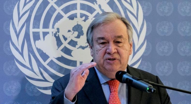 UN Secretary-General Antonio Guterres condemns Dusit D2 Al Shabaab attack