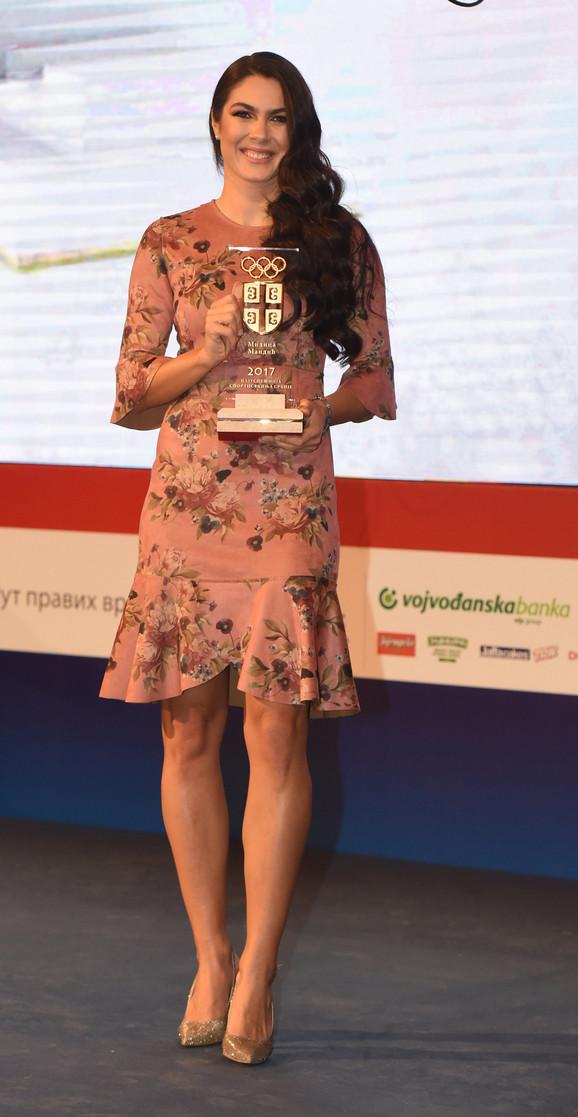 Najbolja sportistkinja Srbije za 2017: Milica Mandić