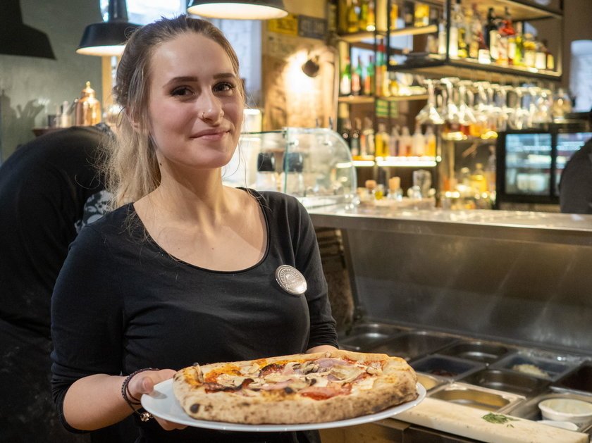 Wiktoria Gmerek z pizzerii Forno Nero