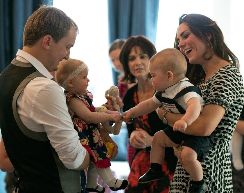 Kate Middleton z Jerzykiem
