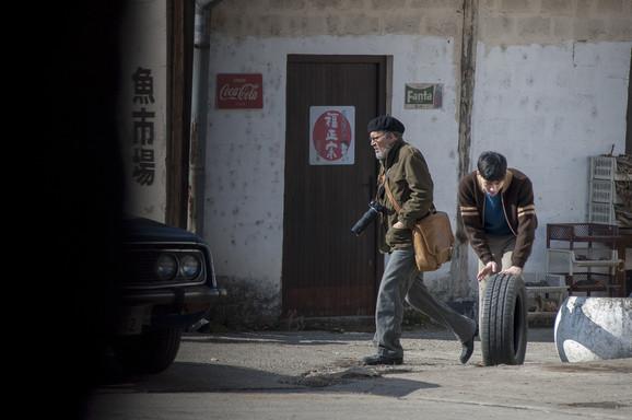 Džoni Dep u Srbiji tokom snimanja filma