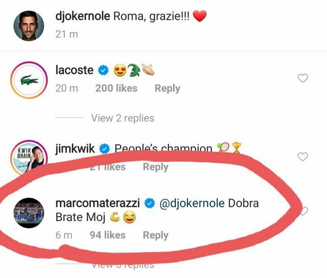 Đoković i Materaci