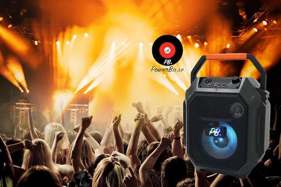 PowerBase bežični bluetooth zvučnik