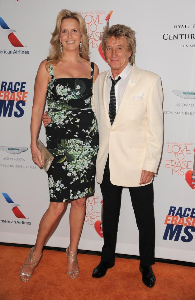 Rod Stewart i Penny Lancaster-Stewart