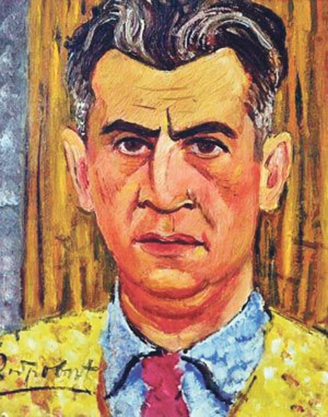 Petar Dobrović, Autoportret, 1932.