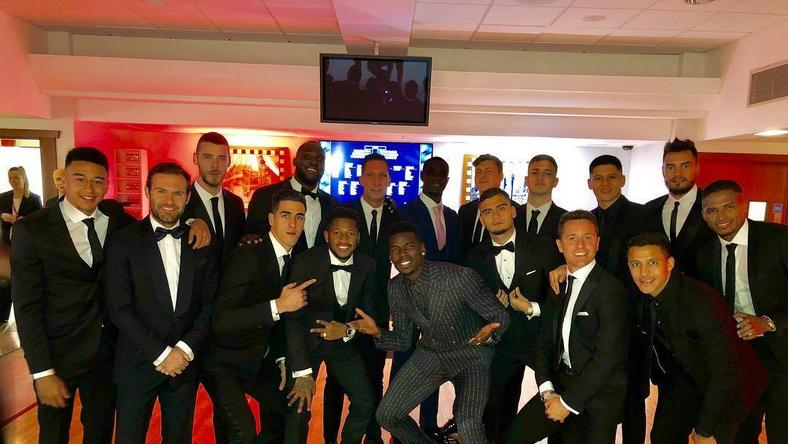 Manchester United stars came out in full force to the UNICEF gala