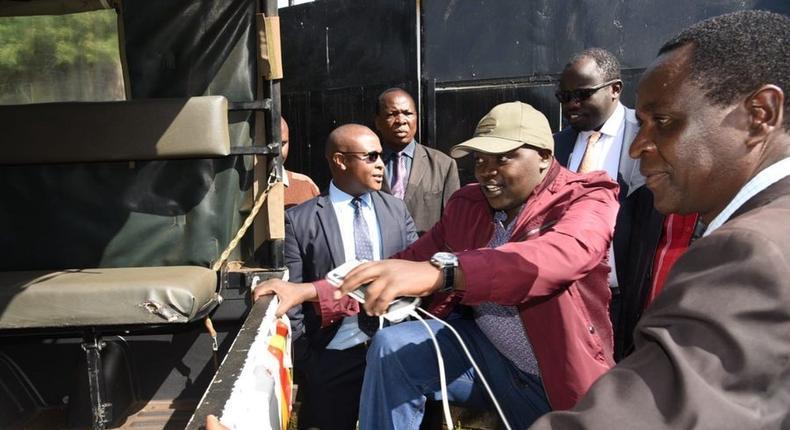 Nandi Senator Samson Cherargei arrested again over hateful utterances at Kilibwoni