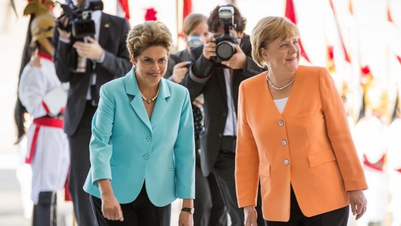 W mijającym tygodniu niemiecka kanclerz przebywała z oficjalną wizytą w Brazylii. Podejmowała ją oczywiście tamtejsza prezydent, która...