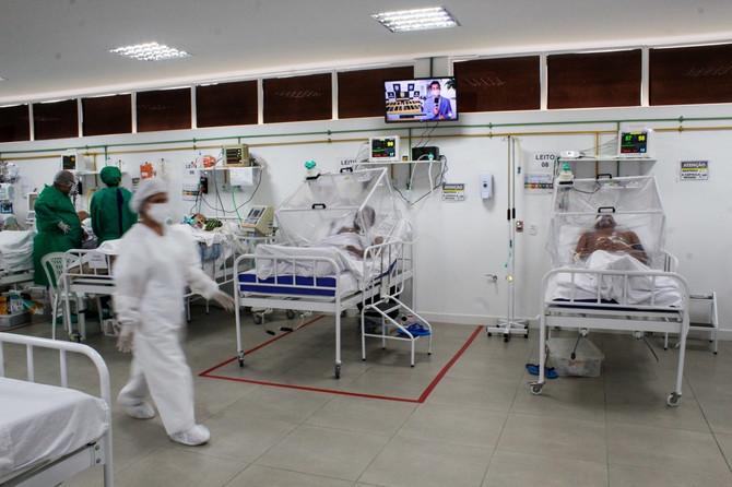 Bolnica u Brazilu koji je pored Amerike i Indije najugroženija zemlja tokom pandemije kovida-19