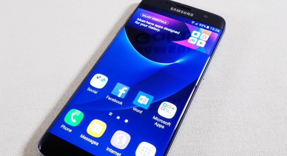 Galaxy S7 edge: Samsung zeigt neues High-End-Phone