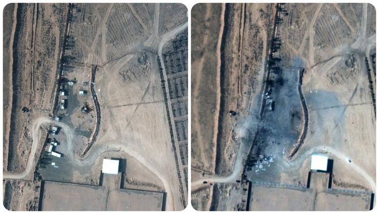 Pre i posle američkog napada