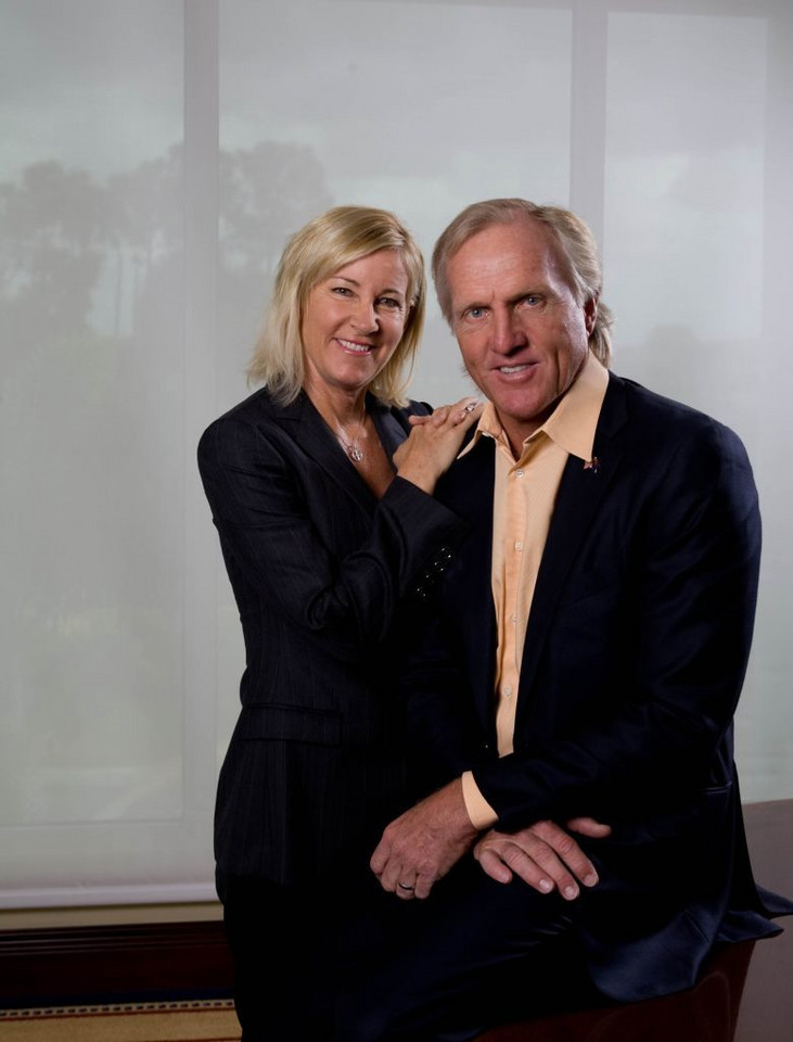 Greg Norman i Chris Evert