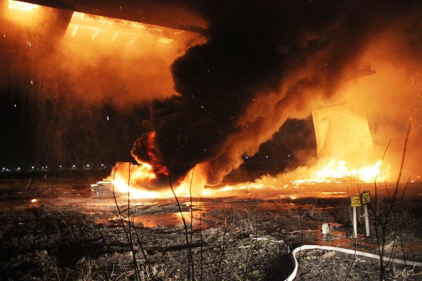 Pożar mostu Łazienkowskiego. Biegli przedstawili wyniki badań