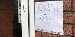 20 złotych za toaletę nad polskim morzem! Turysta był w szoku