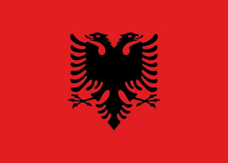 Zstava, Albanija