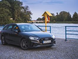 Audi A4 Avant 45 TFSI quattro – szara myszka