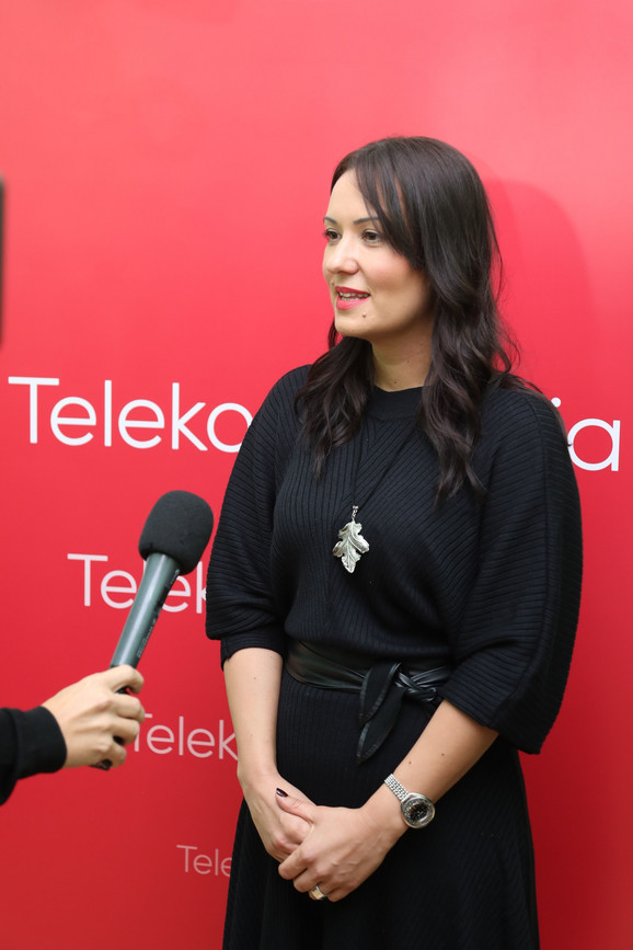 Marija Bošković, direktorka Sektora za odnose sa javnošću Telekoma Srbija
