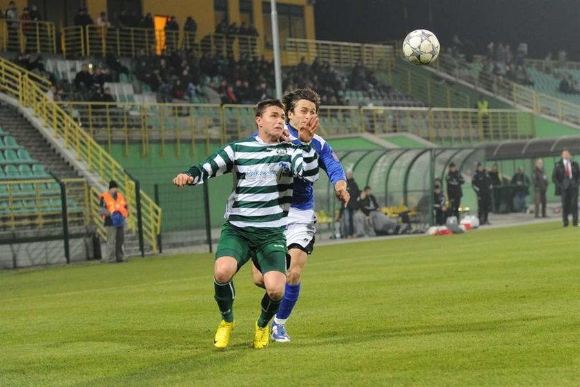 Rezerwowy Dawid Wacławczyk strzelił 3 gole w ciągu 25 minut gry