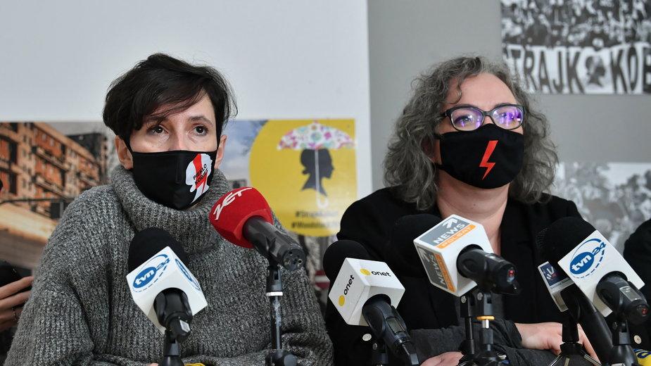 Klementyna Suchanow i Marta Lempart
