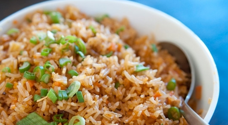 How to prepare ginger fried rice