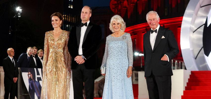 Kate Middleton oddała hołd księżnej Dianie na premierze nowego Bonda. Włożyła suknię inspirowaną jej stylem!