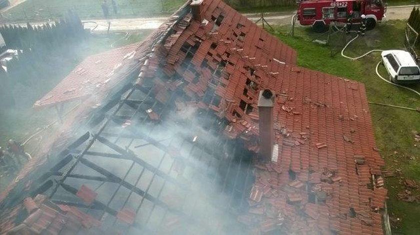 Dom wyleciał w powietrze. Właściciel trafił do szpitala