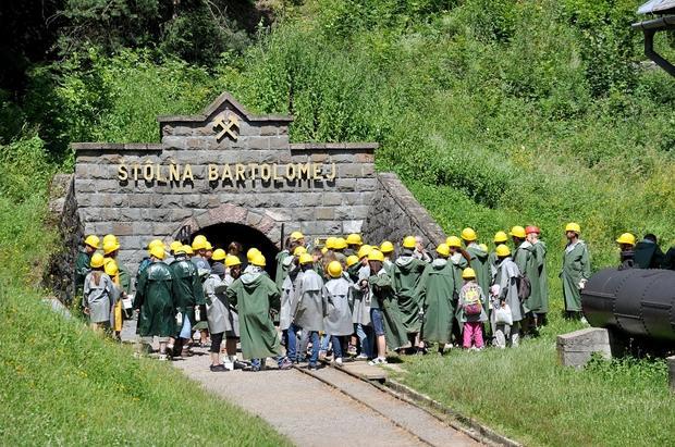 Skansen górniczy, Szyb Św. Bartłomieja