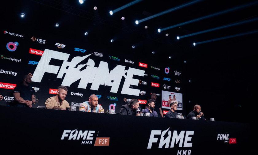 FAME MMA 11 odbędzie się 2 października w Arenie Gliwice. Kiedy będzie ostatnia konferencja przed galą?