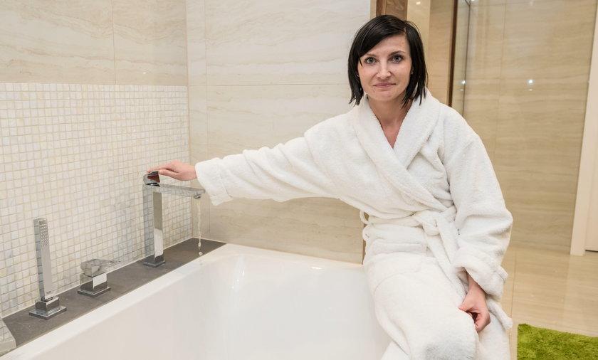 Termy Uniejów. Budowa osiedla domów termalnych z wodą mineralną w łazience. To domowe spa
