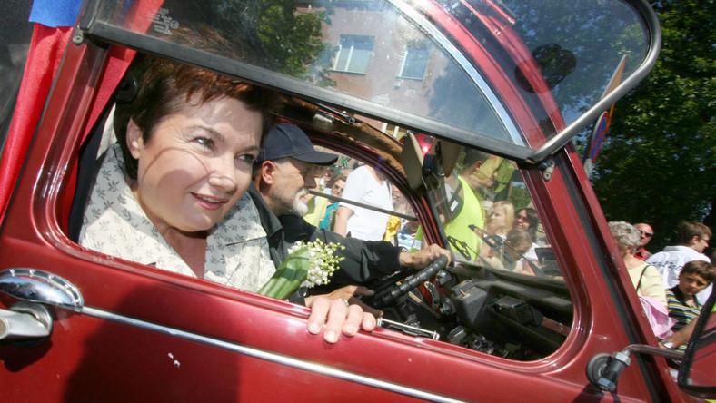 Prezydent stolicy Hanna Gronkiewicz-Waltz jest wielką podróżniczką