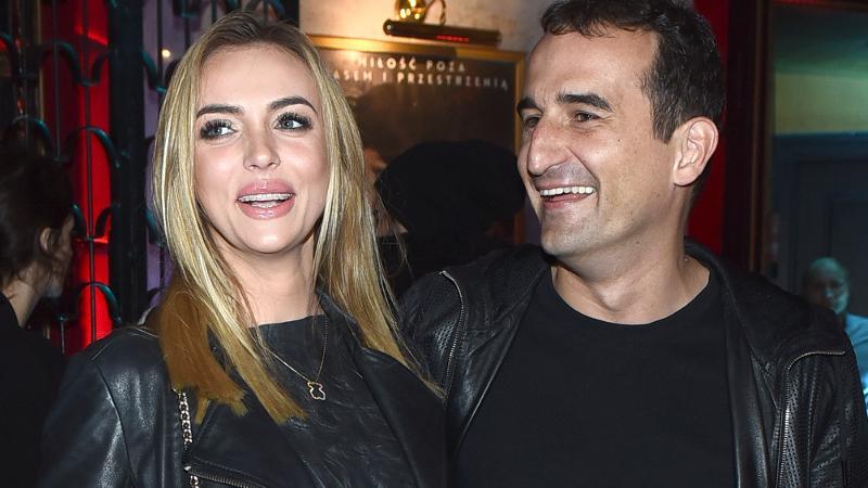 Marcela Leszczak i Misiek Koterski
