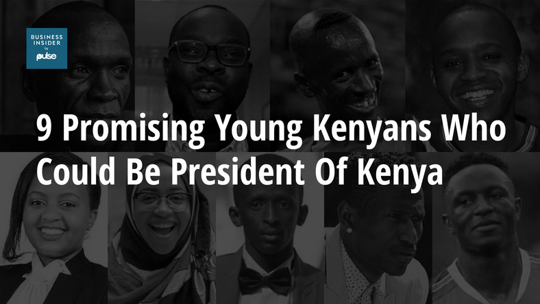 9 promising young Kenyans who could be president of Kenya.