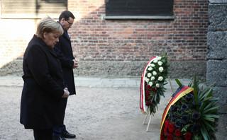 Merkel w Auschwitz-Birkenau: Odczuwam głęboki wstyd z powodu barbarzyńskich zbrodni, które popełnili tu Niemcy
