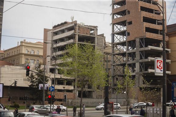 Prošlo je 19 godina od kako je zgrada Generalštaba razrušena u bombardovanju