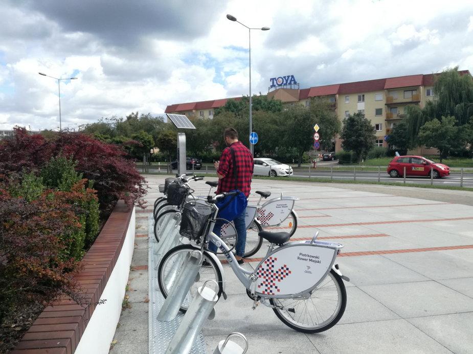 Rower miejski w Piotrkowie Trybunalskim