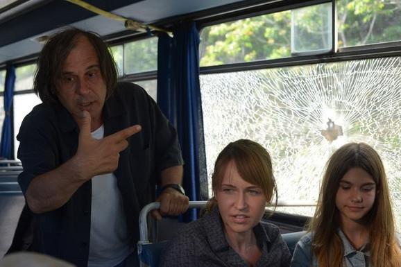 Goran Radovanović na snimanju filma