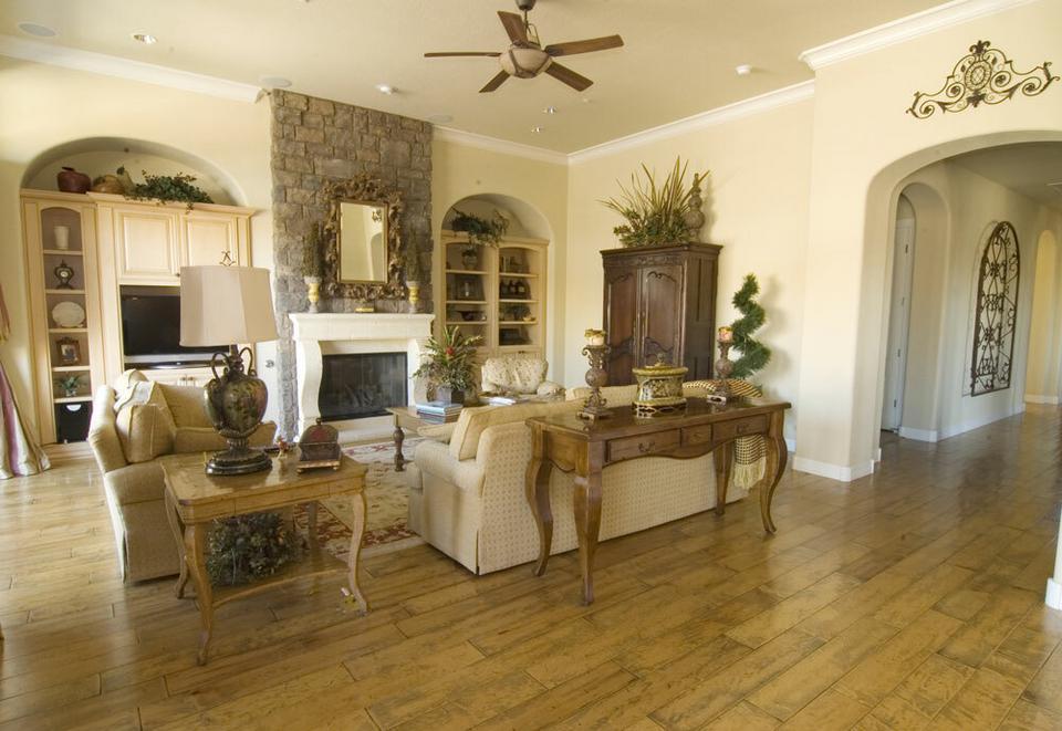 Wn ki dekoracyjne w salonie dom for Living elegante