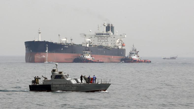 "Irański tankowiec ""Artavil"""