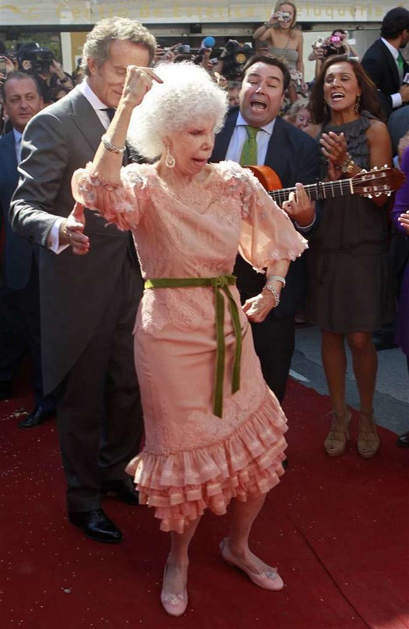85-letnia księżna wyszła za mąż. DUŻO ZDJĘĆ!